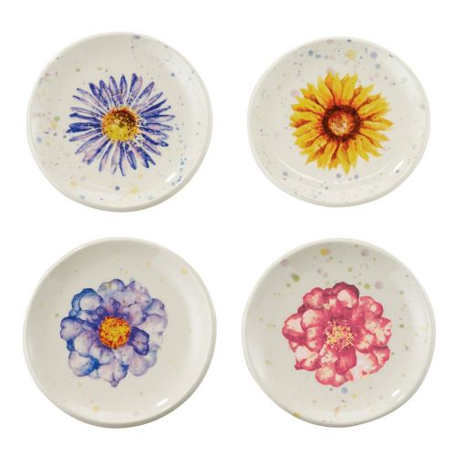 Let It Bee Floral Tea Tidy - Set of 4